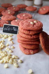 "Бисквити ""Червено кадифе""- лесна и бърза рецепта I Red Velvet Cookies"